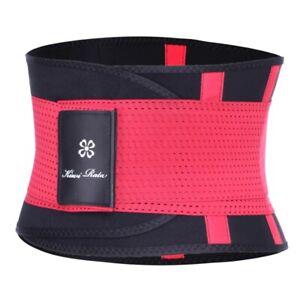 Fitness Waist Trainer Body Shaper Thermo Corset Waist Belt Cincher Wrap Workout