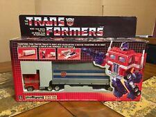 TRANSFORMERS 1984 AUTHENTIC OPTIMUS PRIME G1 AUTOBOT CANADIAN BOX UBER RARE!