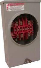 Milbank UC7237-RL 20A steel 1P 120V 13jaw current transformer meter socket