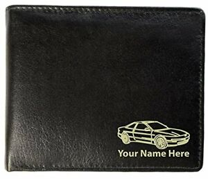 Ford Probe Design, Personalised Mens Leather Wallet