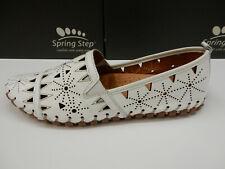 Spring Step Womens Fusaro White 40