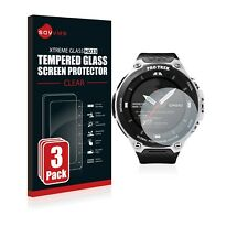 3x TEMPERED GLASS SCREEN PROTECTOR for Casio Pro Trek Smart WSD-F20