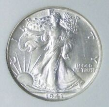 1941 P BU GEM LIBERTY WALKING SILVER HALF UNC MS+++ U.S. MINT RARE # 05009