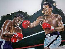 Muhammad Ali v Joe Frazier (2nd) by David Putland - A3 Limited edition Prints