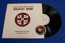 Cedar Creek High School Wildcat Band 1967-1968 Easy Listening LP Piranha Records
