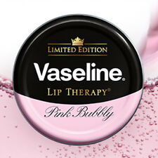 [VASELINE] Lip Therapy Pure Petroleum Jelly Lip Balm Tin 17g Limited PINK BUBBLY