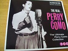 PERRY COMO THE REAL ULTIMATE COLLECTION 3 CD MINT-
