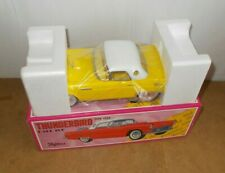 Vintage tin toy FIFTIES 50's made in Japan Yellow THUNDERBIRD hard top BOXED 80s