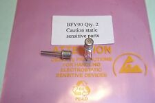 BFY90 Low Noise RF Transistors genuine Motorola NOS Qty. 2