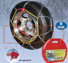 CATENE DA NEVE MELCHIONI 9MM 215/65-16 CHIUSURA A CRICCHETTO PER AUTO (CA9110)
