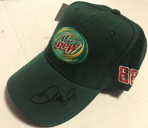 Dale Earnhardt Jr 88 Mountain Dew Team DEW AMP Green Cap Hat NEW NWT