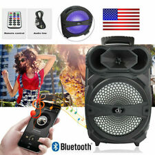Portable Loud Speaker 1000W Bass Stereo Sound System 8