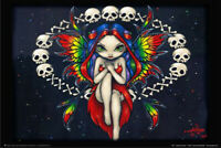 "Rainbow of Bones by Jasmine Becket-Griffith Art Print Poster 24"" x 36"""