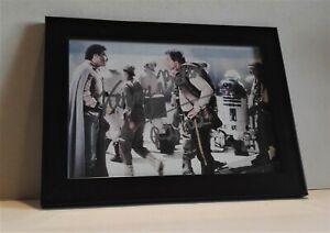 Original Autogramm Star Wars Kenny Baker R2 D2 Schauspieler Time Bandits + COA