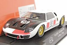 SLOT IT SICA20B FORD GT40 DAYTONA 66' 1ST PLACE RUBY / MILES NEW 1/32 SLOT CAR