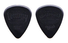 Motorhead Lemmy Kilmister Signature Black Molded Guitar Pick - 2012 Tour