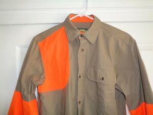 Cabela's Lady's Khaki Long Sleeve RH Shooting Hunting Shirt - Large -Excellent!
