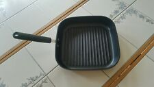 """Pampered Chef Professional Cookware Deep Non Stick  Grill Pan ~ 11"""" x 11"""""""