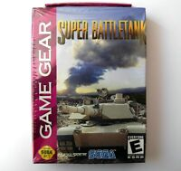SUPER BATTLETANK, jeu pour Sega Game Gear, NEUF / NEW, game for Game Gear
