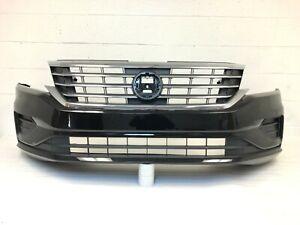 2020-2021 Volkswagen passat S SE SEL front bumper (pearl black) #3