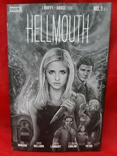 Hellmouth #1 Buffy Angel Cbldf Variant- Lambert, B&W, Joss Whedon, 2019, Vf/Nm!