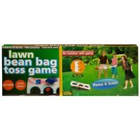 Lawn Bean Bag Toss Game Board Tailgate Portable Target Toy Kids Outdoor