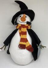 Universal Studios Wizarding World of Harry Potter Hogsmeade Snowman Plush New