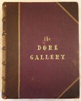 THE DORE GALLERY 250 INCISIONI GUSTAVE DORE BIBBIA DON CHISCIOTTE FAVOLE 1870