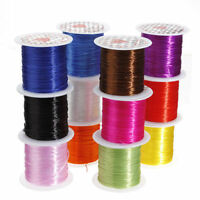 10M Mix-colors Elastic Stretch String Thread Cord For Bracelet Jewelry Making