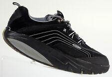 MBT Black white leather walking toning sneakers comfort Men size US 7.5 EUR 40