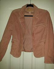 STAR  corderouy jacket rose color size medium
