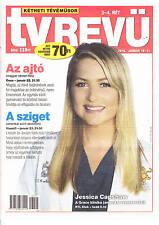 JESSICA    CAPSHAW      Hungarian magazine