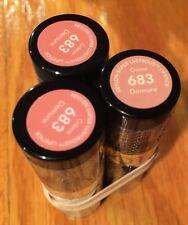 3TUBES  Revlon Super Lustrous Lipstick Creme 683 DEMURE sealed