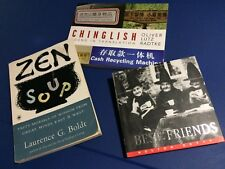 Lot of (3) Coffee Table Books Zen Soup, Best Friends, Chinglish Quotes Signs