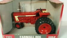 Ertl Farmall 806 Diesel NF w/dauls 1/16 diecast farm tractor replica collectible