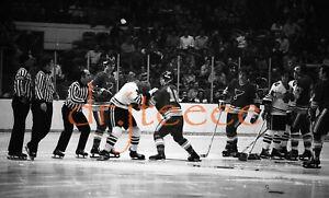 Floyd Thompson vs Keith Magnuson FIGHT 35mm Hockey Negative (MP1)