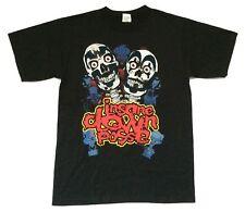 Insane Clown Posse Smile Skulls Shaggy Violent Black T Shirt New Official ICP