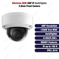 Hikvision DS-2CD2145FWD-I OEM 4MP IP DarkFighter True WDR 2.8mm Fixed Dome