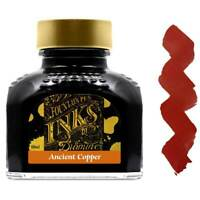 Diamine Ink Bottle for Fountain Pens, Ancient Copper, 80 ml (7086)