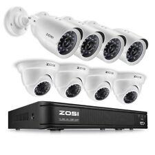 Sistema de 8 Camaras de Seguridad, Ve las Imagenes en tu Celular o Tableta!