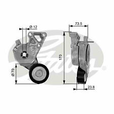 VW BEETLE 1Y Aux Belt Tensioner 1.6 1.8 2.0 98 to 10 Drive V-Ribbed Gates New