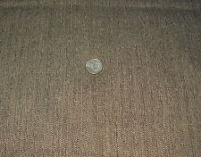 "Grayish Brown Tweed Polyester Suiting Apparel Fabric 2 Yards by 60"" wide"