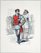 TYPE de la COMMUNE: ÉTAT-MAJOR du COMITÉ CENTRAL - Superbe gravure du 19e siècle