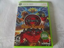CHAOTIC SHADOW WARRIORS for Original Microsoft Xbox 360 LIVE System