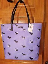 NWT Kate Spade Bon Shopper WHALE off we go Blue Shoulder Bag, Tote Bag RARE