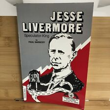 JESSE LIVERMORE : SPECULATOR KING by Paul Sarnoff PB EXCELLENT
