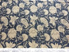 Ralph Lauren Upholstery Fabric China Blue Floral 3.25 yds PT