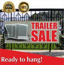Trailer Sale Banner Vinyl Mesh Banner Sign Many Sizes Save Big Load Discount