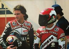 Barry Sheene and Kenny Roberts 1981 Colour POSTER