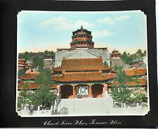 20 PHOTO ALBUM CHINA CHINESE VIEW BEIJING PEKING HAND TINTED SILVER PHOTOS 1925